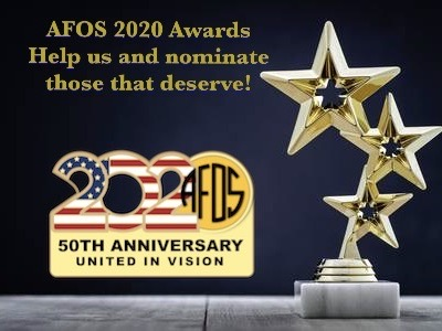 AFOS 2020 Awards Nominations Open!